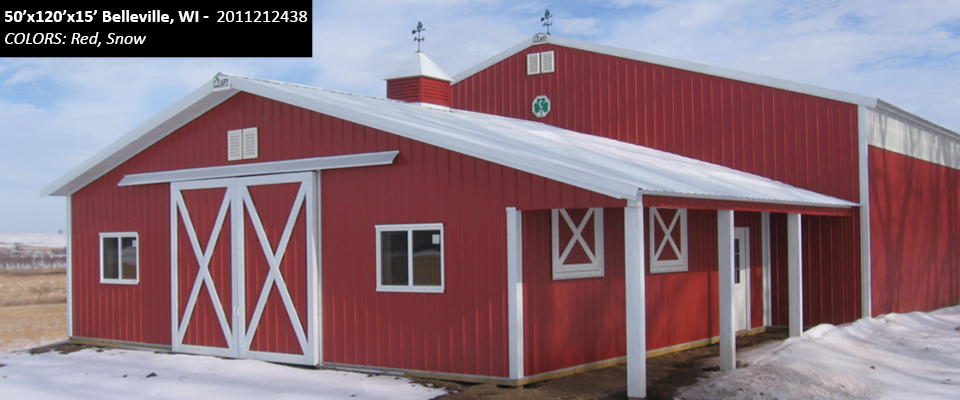Horse barns arena cleary building corp for Horse barn building