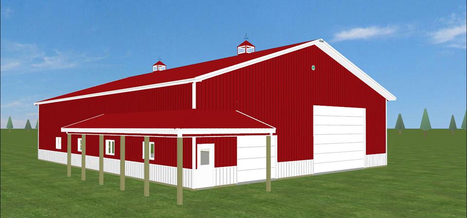Virtual barn builder joy studio design gallery best design for Pole barn blueprint creator