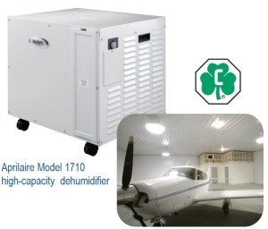 Aprilaire Model 1710 high-capacity dehumidifier