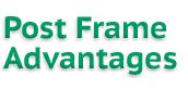PostFrameAdvantages