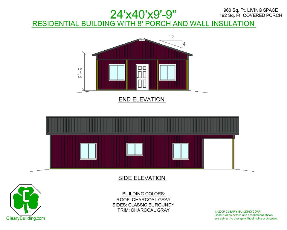 Residential material packages cleary building corp for House material packages