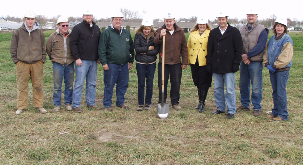 Cleary Building Corp. Breaks Ground On New Commercial Building In Tipton