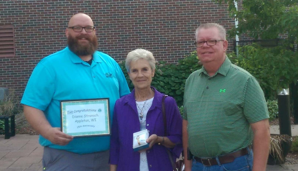 CLEARY BUILDING CORP. EMPLOYEE RECOGNIZED FOR LONG-TERM DEDICATED SERVICE