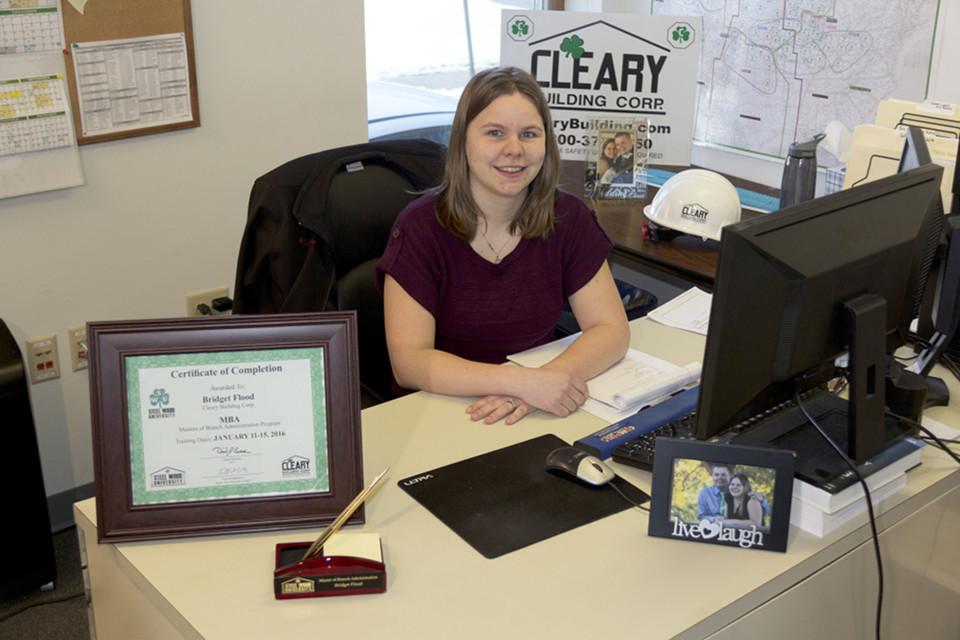 Bridget Flood Office Pic