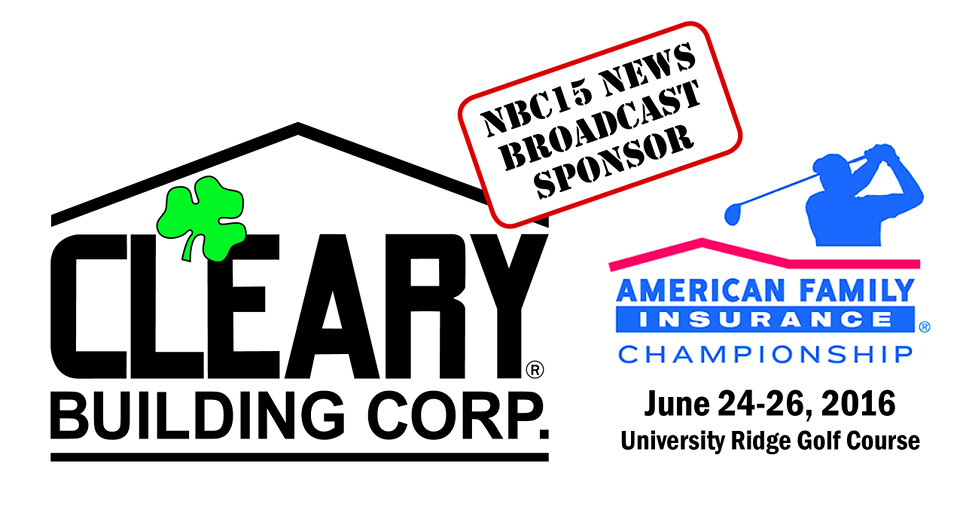 Cleary Building Corp Exclusive Sponsor Of News Broadcast For PGA Tour Champions Event In Madison