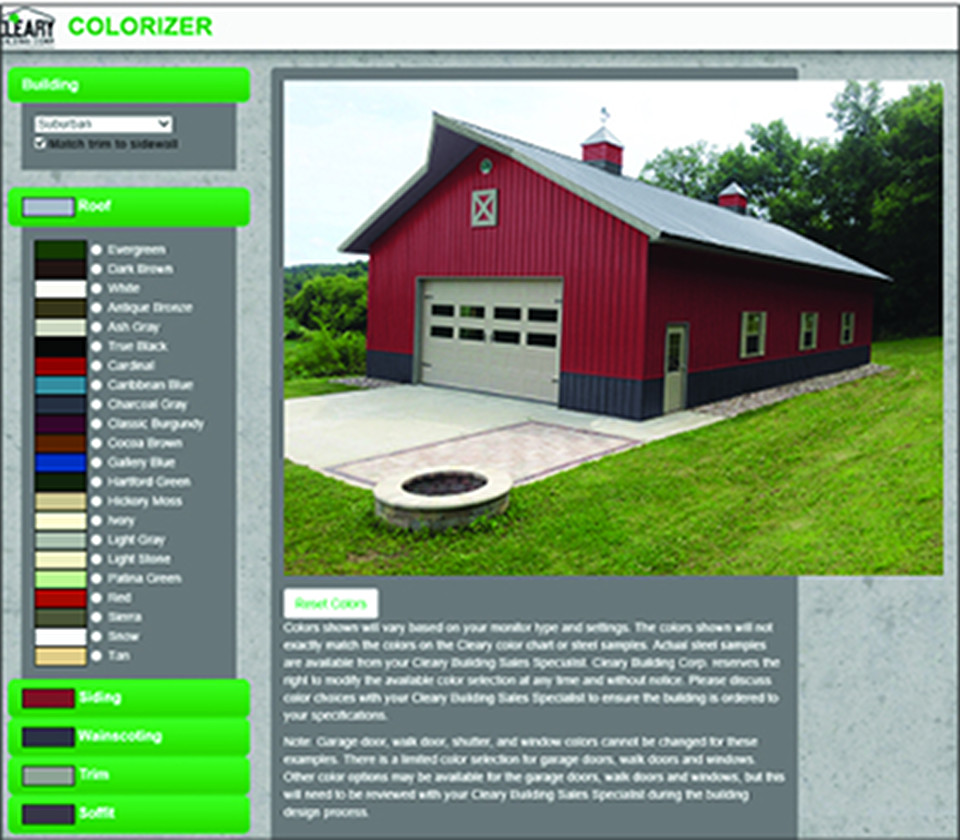 New improved cleary color visualizer now available Online visualizer