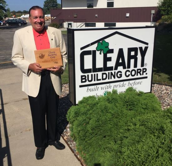 Cleary Building Corp. Named Business Of The Week