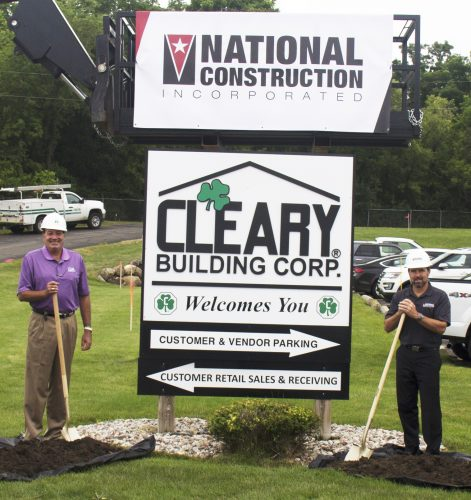 Ground Breaking Signifies Long-Term Growth For Local Construction Company