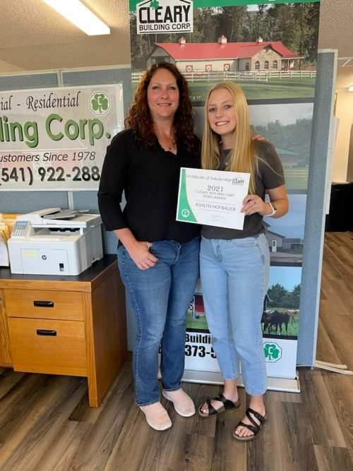 2021 CLEARY BUILDING CORP. SCHOLARSHIP RECIPIENTS ANNOUNCED